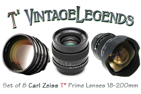 Zeiss T* Vintage Legends (x7)